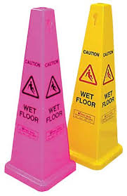 F215 - Safety Cone Wet Floor