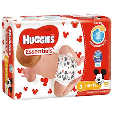 B011 - Huggies Nappy Essential Crawler 52x4