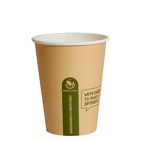 EC-HC0671 - Hot Coffee Paper Cup Biodegradable, Compostable
