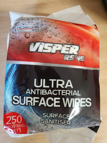 B271- Wipes Anti Bacterial 200 x 6 Pack
