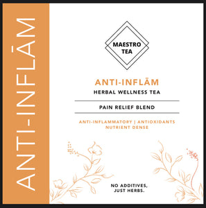 Anti-Inflam: Tasty anti-inflammation in a cup