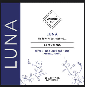 Luna: Fall into a comfortable deep sleep & wake up rested & ready