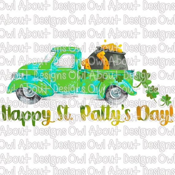 Happy St Patty's Day Truck