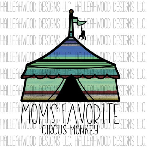 Mom's Favorite Circus Monkey Boy