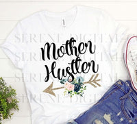 Mother Hustler Arrow Floral