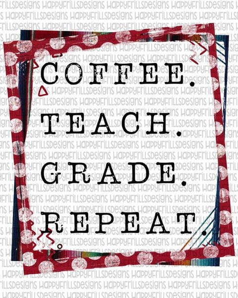 Coffee Teach Teacher