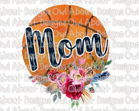 Basketball Mom Floral #1