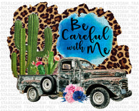 Be Careful With Me Cactus Truck