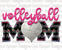 Volleyball Mom #1