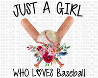 Just a Girl Who Loves Baseball