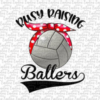 Busy Raising Ballers Volleyball Mom