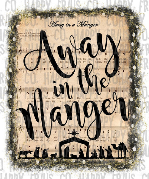Away in the Manger Christmas #1