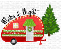 Merry & Bright Christmas Camper