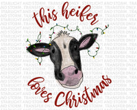 This Heifer Loves Christmas