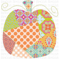 Patchwork Pumpkin Fall #1