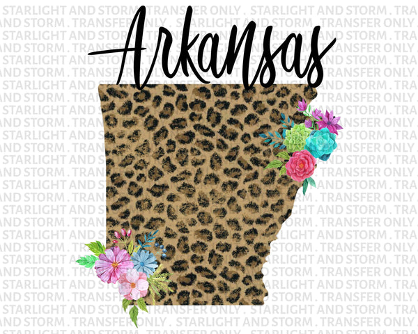 Arkansas Cheetah Floral