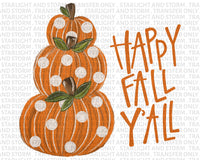 Happy Fall Y'all Pumpkins #3