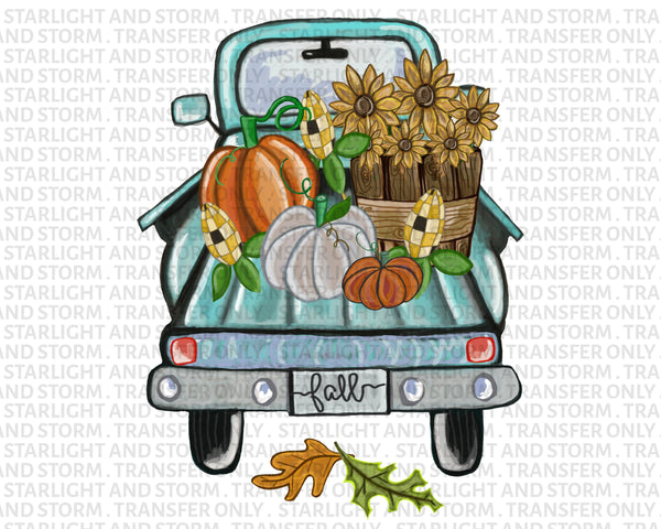 Fall Harvest Pumpkin Truck #2