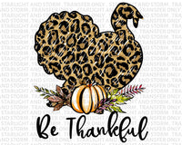 Thanksgiving Leopard Turkey