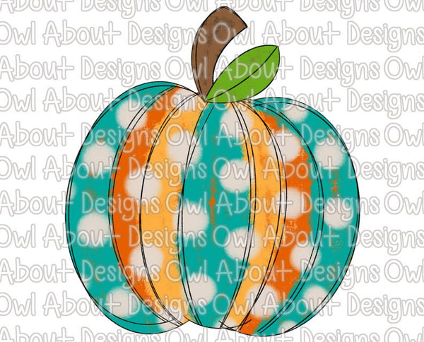Pumpkin Polka Dots Fall
