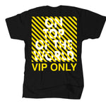 "OTOW ""VIP Only"" Black T Shirt- J Alvarez"
