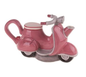 Retro Scooter Teapot