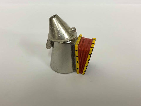 Furnace blower Pewter Thimble