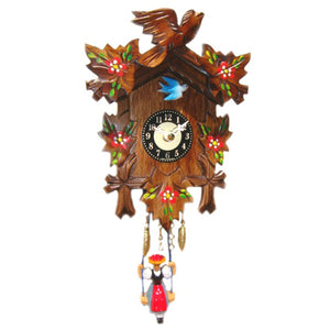 Quartz Swinging Pendulum Clock