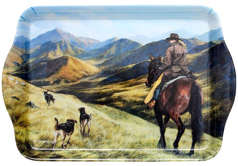 Working the Land High Country Girl Scatter Tray