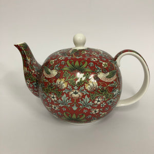 Strawberry Thief Teapot