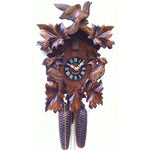 8 Day Birds and Leaves Cuckoo Clock