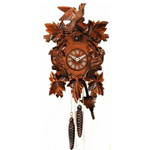 Birds and Leaves Cuckoo Clock