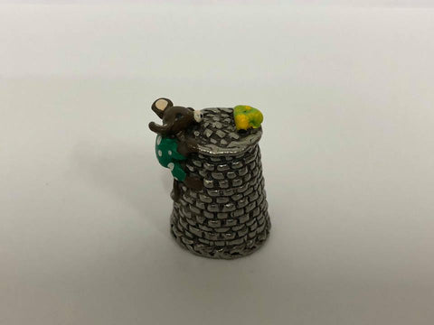 Mouse Pewter Thimble