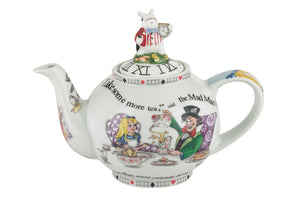 Alice In Wonderland Teapot (2 cup)