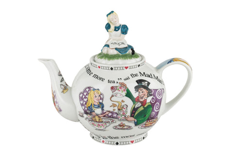 Alice In Wonderland Teapot (6 cup)