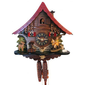 1 Day Rocking Horse Cuckoo Clock