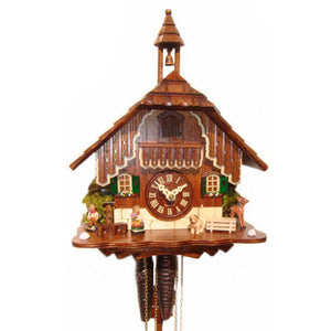 1 Day Bell Tower Cuckoo Clock