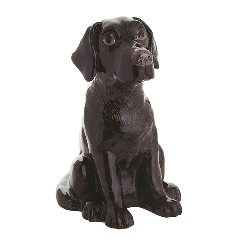 Black Labrador Money Box
