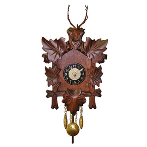 Miniature Cuckoo Clock with Pendulum