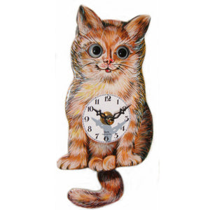 Quartz Cat Clock With Moving Eyes
