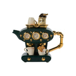 Double Espresso Large Teapot Green
