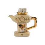Single Espresso Cream Teapot