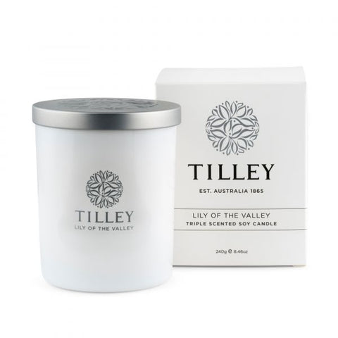 Lily Of The Valley Soy Candle 240g
