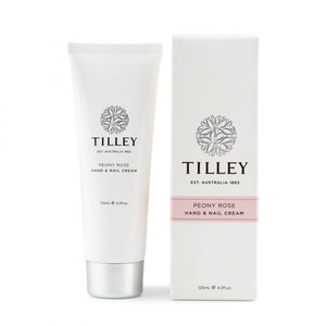 Peony Rose Deluxe Hand & Nail Cream 125mL