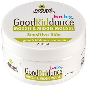 Baby Good Riddance Mozzie & Midgie Mousse 250ml