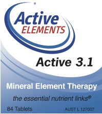 Active 3.1 Mineral Element Therapy (84 tabs)