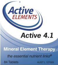 Active 4.1 Mineral Element Therapy (84 tabs)
