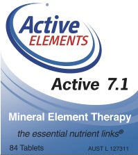 Active 7.1 Mineral Element Therapy (84 tabs)