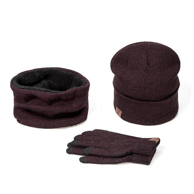 Women Winter Hats Scarves Gloves set - Shusha chic