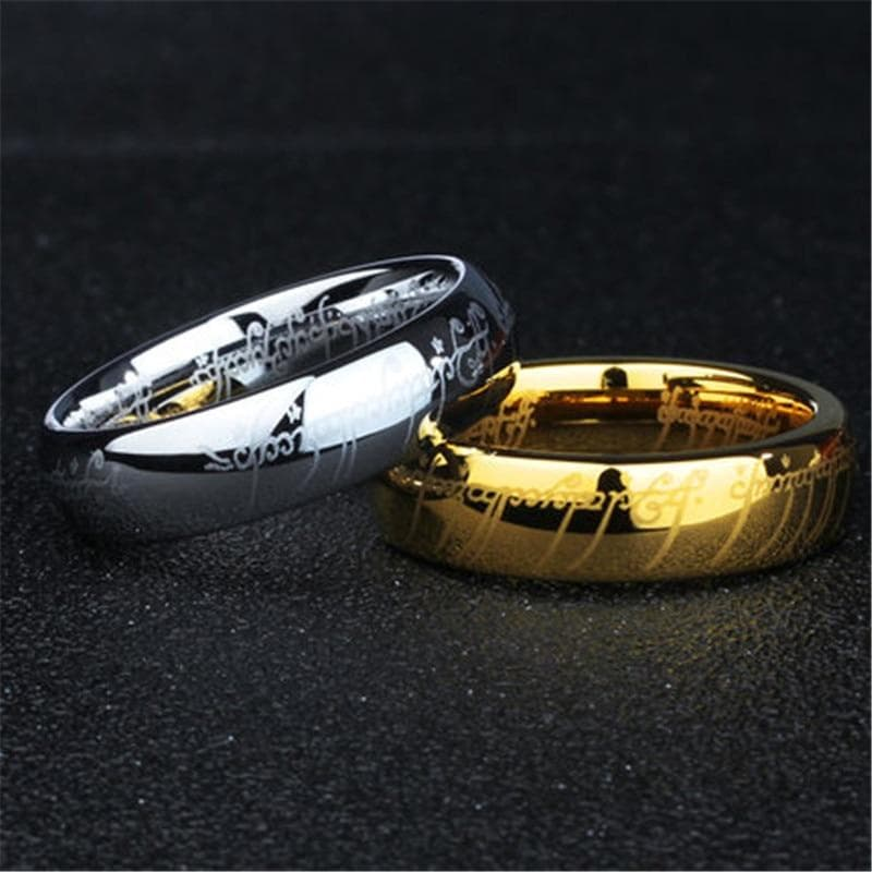 100% Tungsten ring 316l Stainless Steel